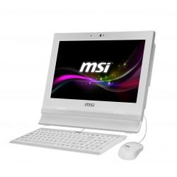 "MSI - Wind Top Professional AP1622ET-037XEU 1.8GHz 1037U 15.6"" 1366 x 768Pixeles Pantalla táctil Blanco PC todo en"
