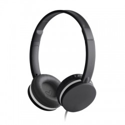 Energy Sistem - Colors Diadema Binaurale Alámbrico Negro auriculares para móvil