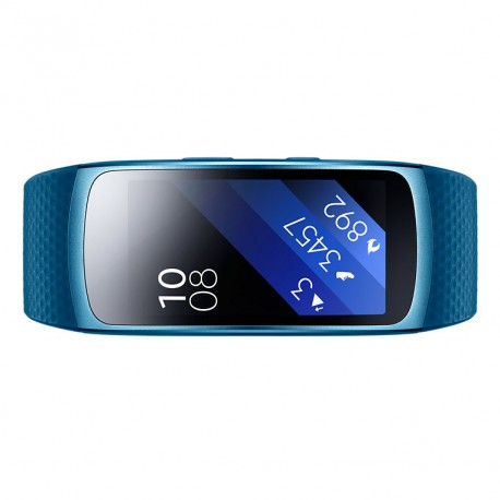 """Samsung - Gear Fit 2 Wristband activity tracker 1.5"""" AMOLED Alámbrico Azul"""