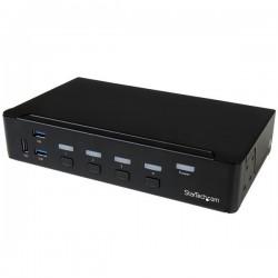 StarTech.com - Switch Conmutador KVM de 4 Puertos HDMI 1080p con USB 3.0
