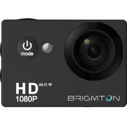 Brigmton - BSC-8HD 12MP Full HD Wifi 64g cámara para deporte de acción