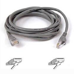 Belkin - UTP CAT5e 3m 3m Cat5e U/UTP (UTP) Gris cable de red