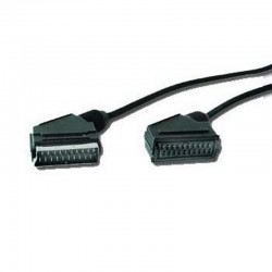 iggual - IGG311660 1.8m SCART (21-pin) SCART (21-pin) Negro cable EUROCONECTOR