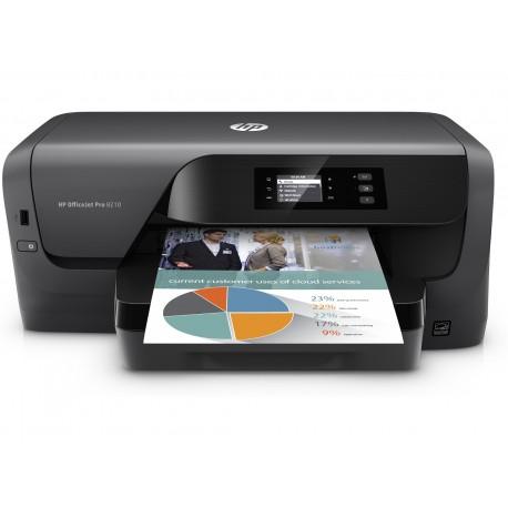 HP - Officejet Pro 8210 Color 2400 x 1200DPI A4 Wifi Negro