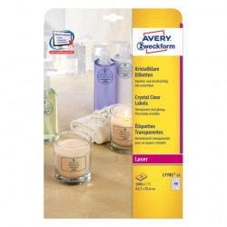 Avery - L7781-25 etiqueta autoadhesiva