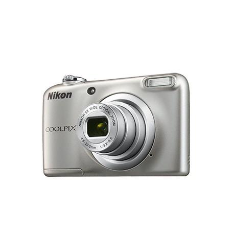"Nikon - COOLPIX A10 + Case Cámara compacta 16.1MP 1/2.3"" CCD 4608 x 3456Pixeles Plata"