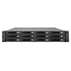 QNAP - REXP-1220U-RP unidad de disco multiple Bastidor (2U) Negro