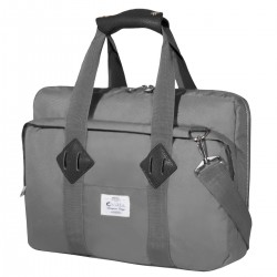 "e-Vitta - EVLB000464 maletines para portátil 40,6 cm (16"") Bandolera Gris"