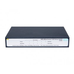 Hewlett Packard Enterprise - OfficeConnect 1420 5G PoE+ (32W) No administrado L2 Gigabit Ethernet (10/100/1000) Gris 1U Energía
