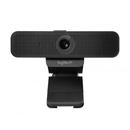 Logitech - C925e 1920 x 1080Pixeles USB 2.0 Negro cámara web