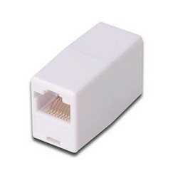 Digitus - AT-A 8/8 adaptador de cable RJ45 Blanco