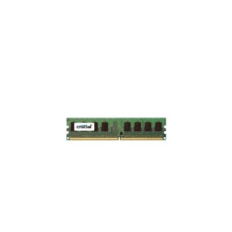 Crucial - 2GB DDR2-1066 DIMM 2GB DDR2 1066MHz módulo de memoria