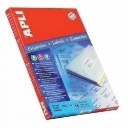 APLI - Labels 48.5 x 25.4mm etiqueta autoadhesiva Blanco 4400 pieza(s)