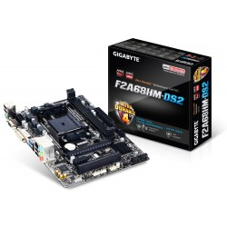 Gigabyte - GA-F2A68HM-DS2 AMD A68H Socket FM2+ microATX placa base