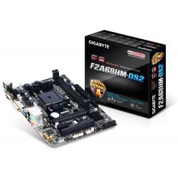 Gigabyte - GA-F2A68HM-DS2 placa base Socket FM2+ AMD A68H micro ATX