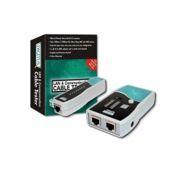 Digitus - Network Cable Tester analizador de red Grey