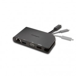 Kensington - SD1500 USB-C Dock Tableta/Smartphone Negro estación dock para móvil