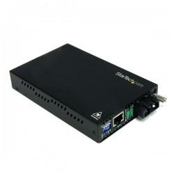 StarTech.com - Conversor de Medios Ethernet 10/100 Mbps a Fibra Multi Modo Conector SC -2km