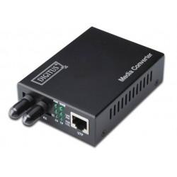 Digitus - DN-82010-1 convertidor de medio 1310 nm Multimodo Interno Negro
