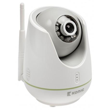 König - KN-BM60 Wi-Fi/Ethernet Gris, Color blanco video-monitor para bebés