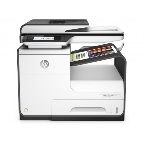 HP - PageWide 377dw A4 Wifi Negro Color blanco