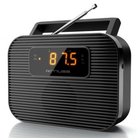 Muse - M-080 R Portátil Analógica Negro radio