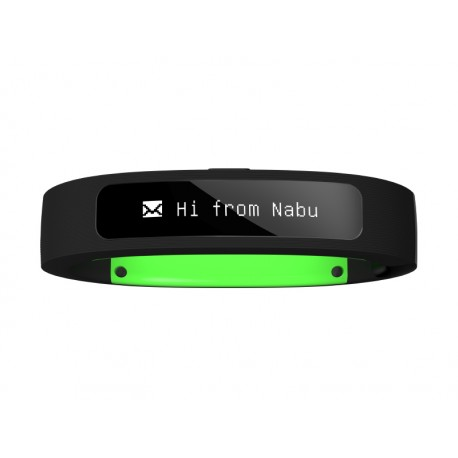 Razer - Nabu Wristband activity tracker OLED Inalámbrico Negro, Verde
