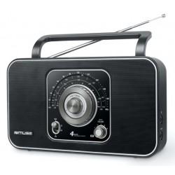 Muse - M-068 R radio Portátil Analógica Negro