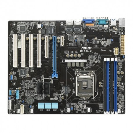 ASUS - P10S-X server/worksation motherboard Intel C232 LGA 1151 (Socket H4) ATX placa base para servidor y estación