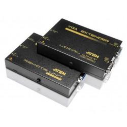Aten - VE150A extensor audio/video AV transmitter & receiver Negro