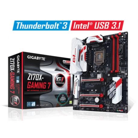 Gigabyte - GA-Z170X-Gaming 7-EU Intel Z170 LGA 1151 (Socket H4) ATX placa base