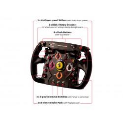 Thrustmaster - Ferrari F1 Volante PC,Playstation 3 Negro