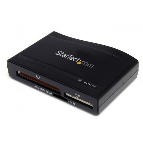 StarTech.com - Lector Multi Tarjetas de Memoria Flash USB 3.0 Super Speed SD CF CompactFlash MS