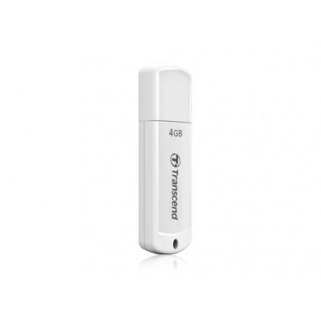 Transcend - JetFlash elite 4GB JetFlash 370 4GB USB 2.0 Capacity Blanco unidad flash USB