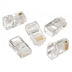 iggual - IGG312148 RJ45 Transparente conector