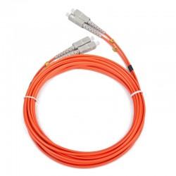 iggual - IGG311523 cable de fibra optica 1 m OM2 2x SC Naranja