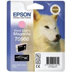 Epson - Husky Cartucho T0966 magenta claro vivo