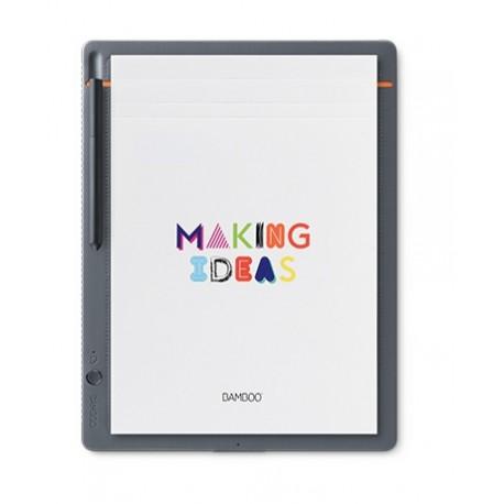 Wacom - Bamboo CDS-810S Gris, Naranja tableta digitalizadora