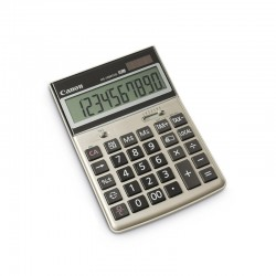Canon - HS-1200TCG calculadora Escritorio Oro, Gris