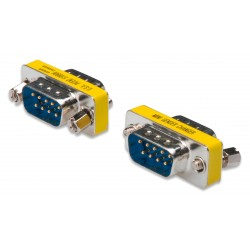 ASSMANN Electronic - AK-610505-000-I adaptador de cable D-Sub, 9-pin Azul, Metálico, Amarillo