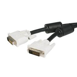 StarTech.com - Cable de 5m DVI-D de Doble Enlace - Macho a Macho