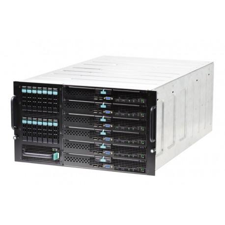Intel - MFSYS25V2 Estante Negro, Gris 1000W carcasa de ordenador