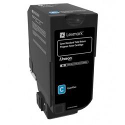 Lexmark - 74C2SC0 cartucho de tóner Original Cian 1 pieza(s)