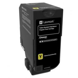 Lexmark - 74C2SY0 cartucho de tóner Original Amarillo 1 pieza(s)