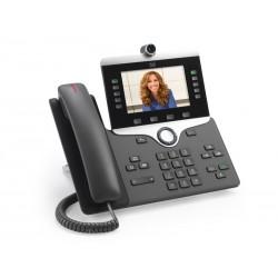 Cisco - IP Phone 8865 teléfono IP Carbón vegetal Terminal con conexión por cable Wifi