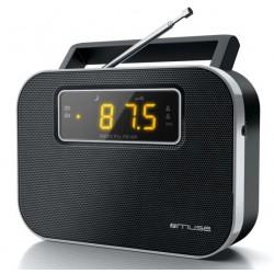 Muse - M-081 R Portátil Analógica Negro radio