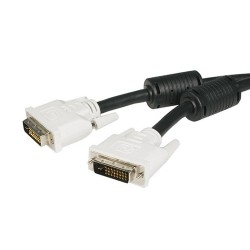StarTech.com - Cable de 1m DVI-D de Doble Enlace - Macho a Macho