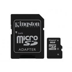 Kingston Technology - 8GB microSDHC 8GB MicroSD Flash memoria flash