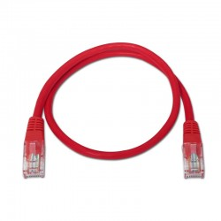 Nanocable - 10.20.0102-R cable de red 2 m Cat5e U/UTP (UTP) Rojo
