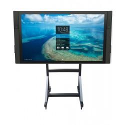 "Newstar - PLASMA-M3000E 100"" Portable flat panel floor stand Negro soporte de pie para pantalla plana"